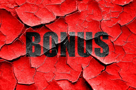 freebie: Grunge cracked Bonus sign with smooth lines and soft highlights