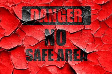 no nuclear: Grunge cracked apocalypse danger background on a grunge background
