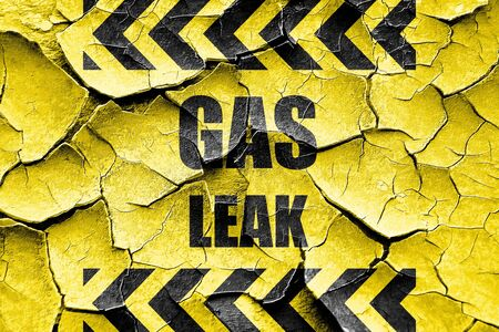 leakage: Grunge cracked Gas leak background with some smooth lines
