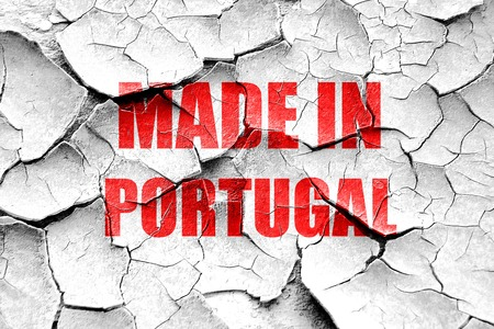 portugese: Grunge cracked Made in portugal with some soft smooth lines