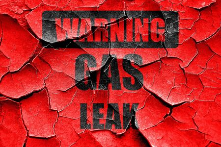 the leak: Grunge cracked Gas leak background with some smooth lines