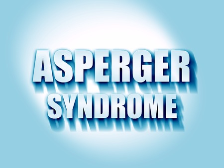asperger syndrome: Asperger syndrome background with some soft smooth lines