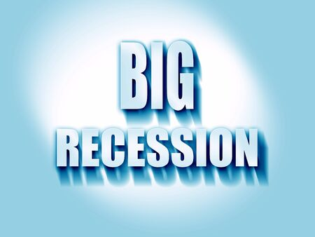 recession: Recession sign background with some smooth lines