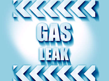 cautious: Gas leak background with some smooth lines