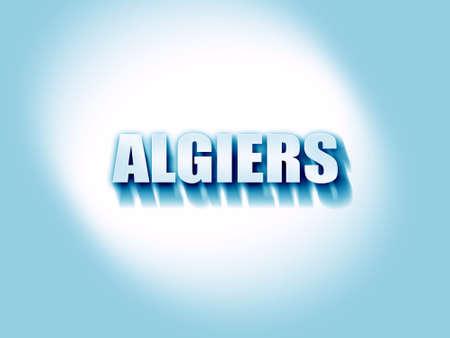 algiers: algiers Stock Photo
