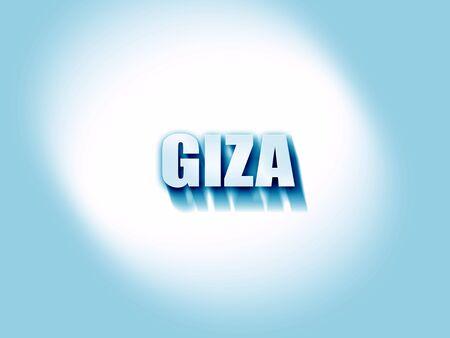 giza: giza Stock Photo