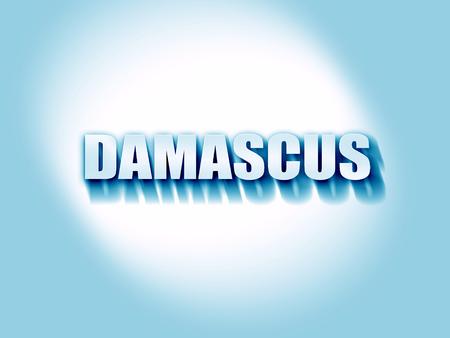 damascus: damascus Stock Photo