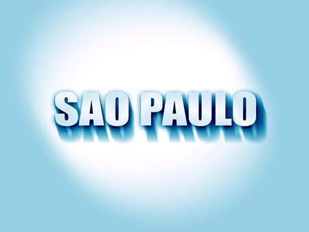 custom letters: sao paulo