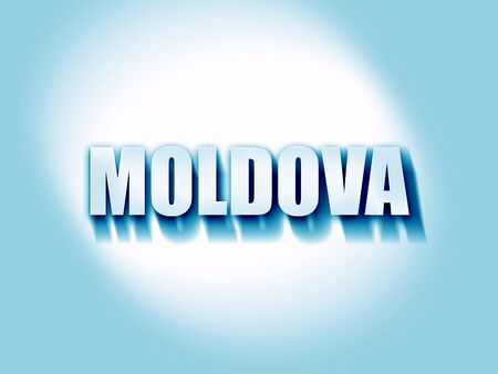 moldovan: Greetings from moldova card with some soft highlights