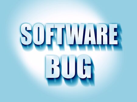 decode: Software bug background with some soft smooth lines Stock Photo