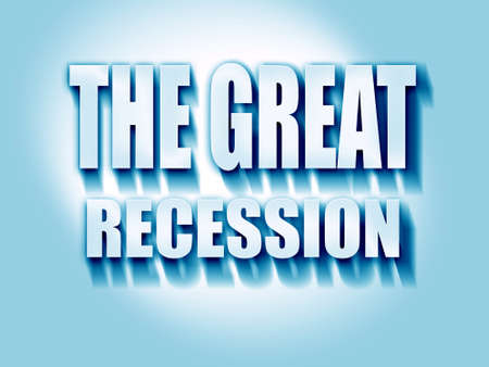 economic depression: Recession sign background with some smooth lines