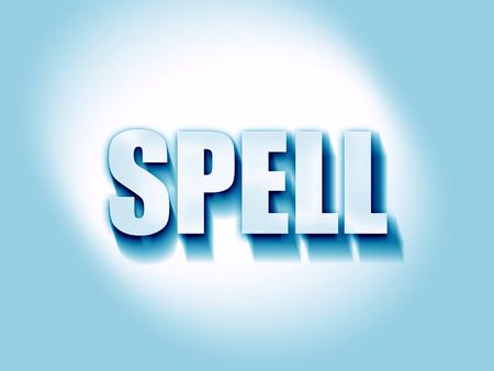 spell: spell