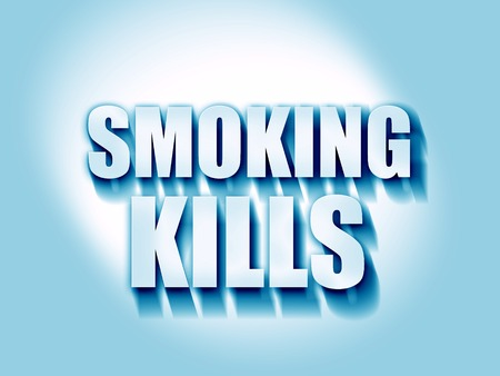 killing cancer: smoking kills Stock Photo