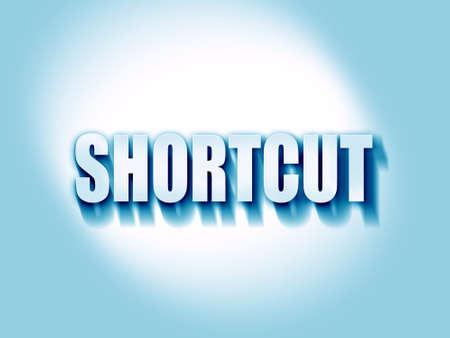 shortcut: shortcut Stock Photo