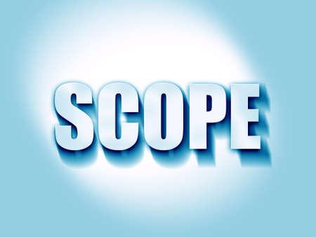 scope: scope Stock Photo