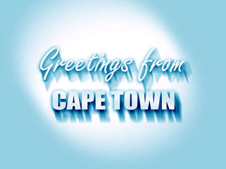 cape town: Greetings from cape town with some smooth lines