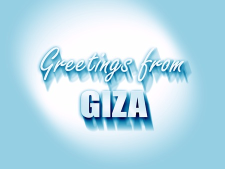 giza: Greetings from giza  with some soft smooth lines