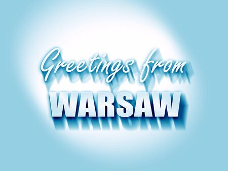 warsaw: Greetings from warsaw with some smooth lines
