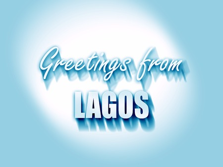 lagos: Greetings from lagos with some smooth lines