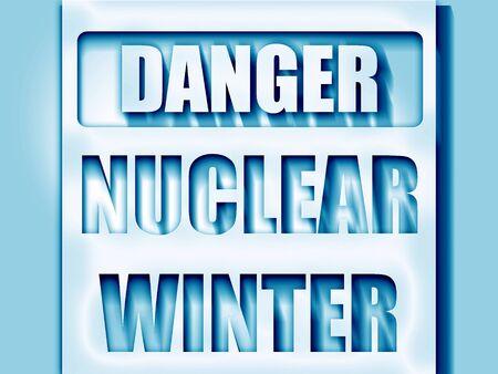 uranium: Nuclear danger background on a grunge background Stock Photo