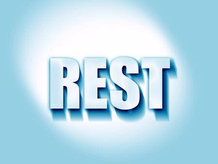 rest: rest
