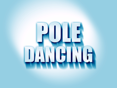 pole dancing: pole dancing sign background with some soft smooth lines