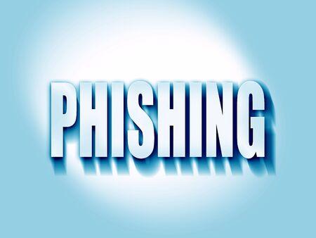 Phising fraude achtergrond met enkele vloeiende lijnen