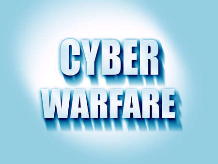 intercept: Cyber warfare background with some smooth lines