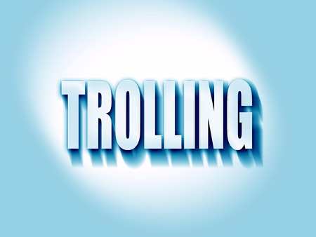 trolling: Trolling internet background with some soft smooth lines Stock Photo
