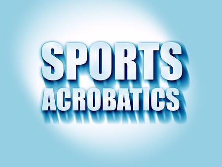acrobatics: acrobacias deportivas que firmen fondo con unas l�neas suaves suaves