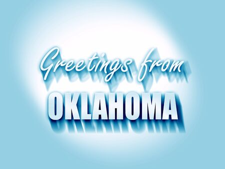 oklahoma: Greetings from oklahoma with some smooth lines
