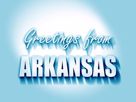 arkansas: Greetings from arkansas with some smooth lines