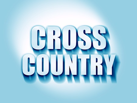 cross country sign background with some soft smooth lines