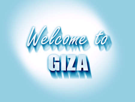 giza: Welcome to giza  with some soft smooth lines