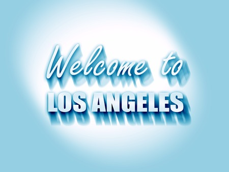 los: Welcome to los angeles with some smooth lines
