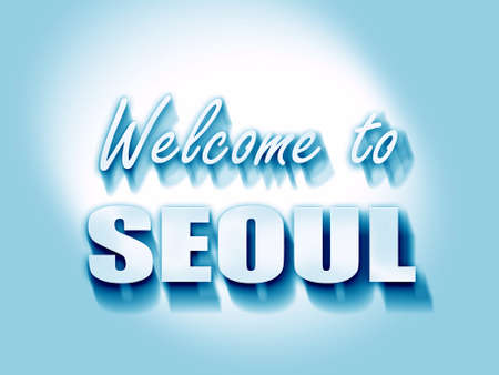 seoul: Welcome to seoul with some smooth lines