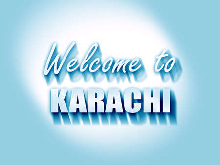 karachi: Welcome to karachi with some smooth lines