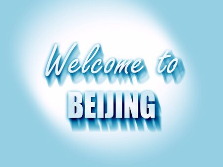 beijing: Welcome to beijing with some smooth lines