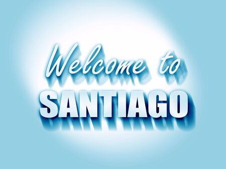 santiago: Welcome to santiago with some soft smooth lines