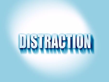 distraction: distraction Stock Photo