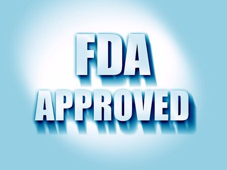 fda: FDA approved background with some smooth lines