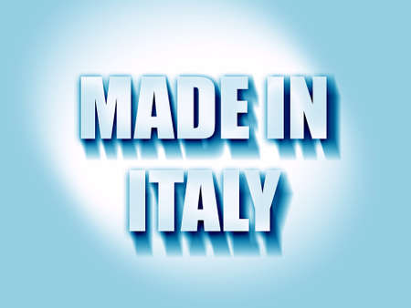 made in italy: Made in italy with some soft smooth lines