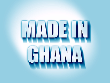 ghanese: Made in ghana with some soft smooth lines