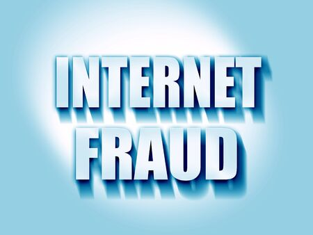 scammer: Internet fraud background with some smooth lines