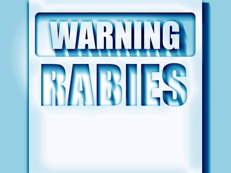 wścieklizna: Rabies virus concept background with some soft smooth lines