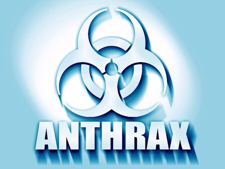 anthrax: Anthrax virus concept background with some soft smooth lines Stock Photo