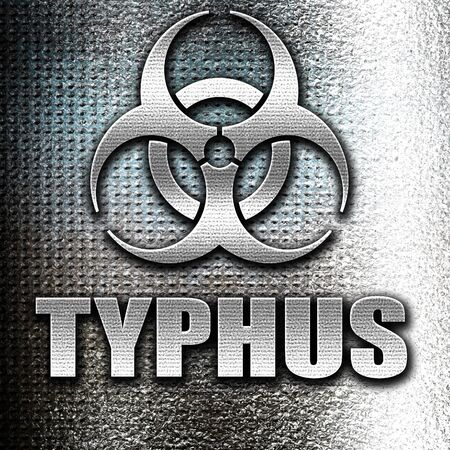 typhus: Grunge metal Typhus concept background with some soft smooth lines