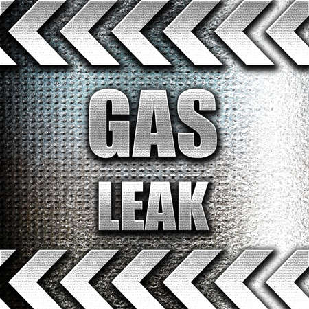 the leak: Grunge metal Gas leak background with some smooth lines