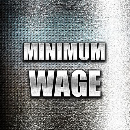 minimum wage: Grunge metal Sweat shop background with some smooth lines Stock Photo