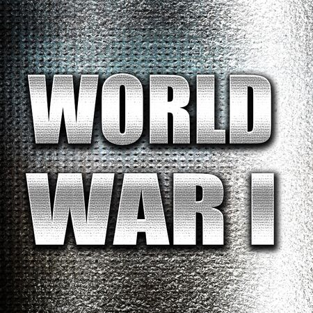 troop: Grunge metal World war 1 background with some smooth lines